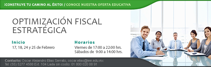 Diplomado Optimizacion_Fiscal 17feb